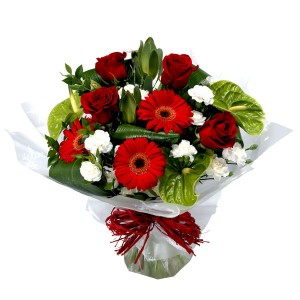 Christmas Flowers by Enchanted Florist
