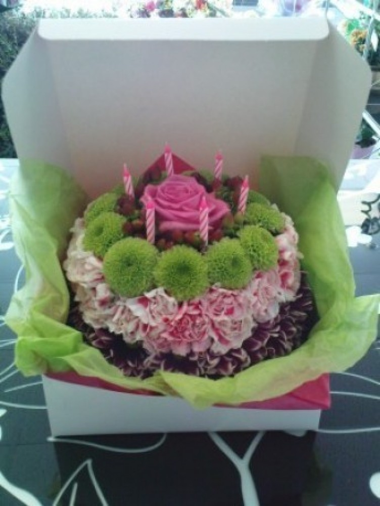 Enchanted Floral Cake
